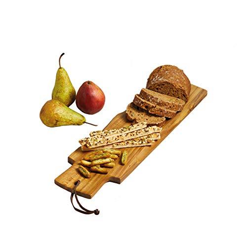 Kitchen Craft Master Class Artesa Akazien-Baguette-/Servierbrett, Holz, Braun, 48 x 13 x 1.5 cm -