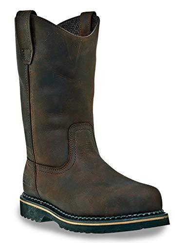 John Deere McRae Mitte Kalb Stiefel Braun/Brown1, 16 W USA (John Deere Baby-stiefel)