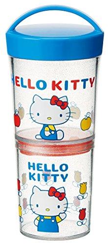 Skater (SKATER) Hello Kitty Sanrio 70er Jahre lwtb1C, Glas/Lunchbox, 480ml