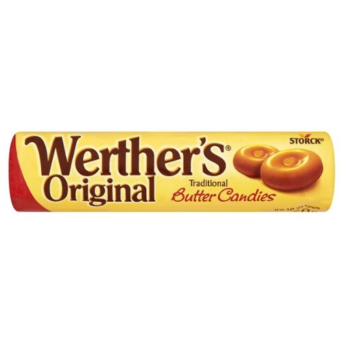 Werther origine Bonbons beurre traditionnel 50g (Pack de 24 x 50g)