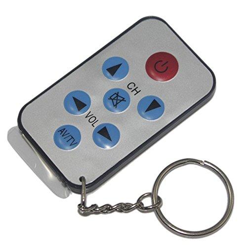 Mini Keychain TV Universalfernbedienung, TV Mini Schlüsselanhänger Universal Fernbedienung für Philips Sony Panasonic Toshiba TCL Universal Tv Fernbedienung Toshiba