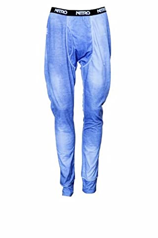 Nitro snowboards sous-vêtement fonctionnel pour femme avec jambes 1st layer pants 14 L Bleu - Effet jeans