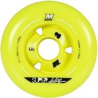 Mate ruedas Super Juice F1 8-Pack, amarillo, 84 mm, 205049