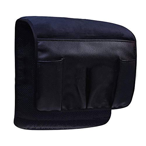 zaote Aufbewahrungstasche PU-Leder plus Samt hängen Sofa Fernbedienung Tasche rutschfeste Armlehne Aufbewahrungsbox wasserdicht Sofa Stuhl excellently -