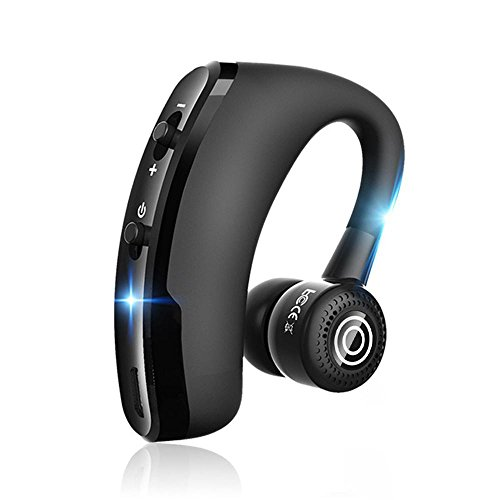 KOBWA Bluetooth Headset Handy Freisprechen Kabellos Kopfhörer Auto, Ohrhörer Bluetooth Headset in Ear mit Mikrofon für iPhone iPad,Samsung,Huawei usw. Bluetooth Samsung Handys