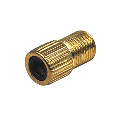 TRIXES 1 x Presta to Schrader (Car) Cycle Road Racing Bike Tube Valve Adapter from TRIXES