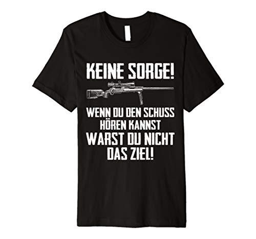 Sniper T-Shirt I Scharfschütze -