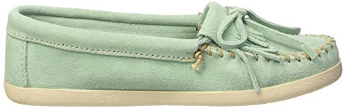 Minnetonka Newport Moc, Mocassini Donna Turchese (turquoise (Mint 4L))