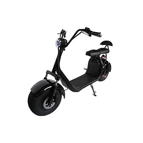 ATAA CARS CityCoco Batería extraíble - Moto Patinete eléctrico para Adultos Choper Estilo Harley