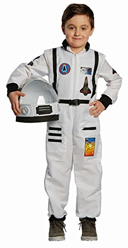 Kinder Kostüm Astronaut Kosmonaut Karneval Fasching Gr.116 (Halloween-kostüme Astronaut)