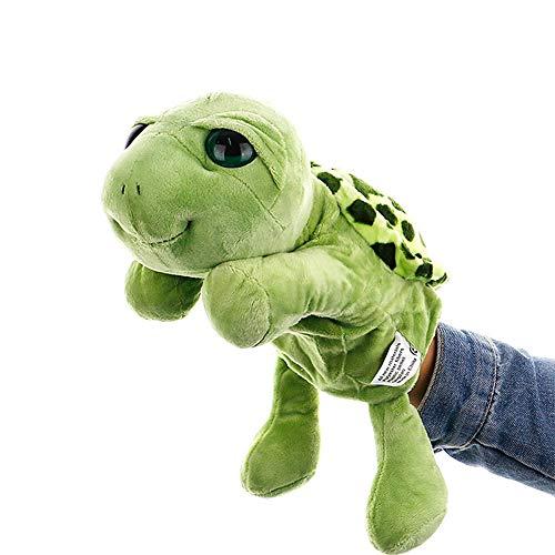 IIWOJ Plüschhand-Puppet, Simulation Schildkröten-Hand-Puppet, Früherzieher-Eltern-Kind-Requisiten (Handpuppe Schnecke)