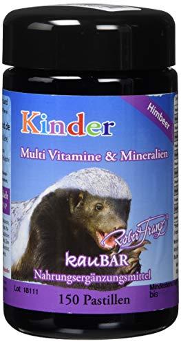 Kaubare Vitamine Zink (Robert Franz Kinder Multi Vitamine & Mineralien 150 Pastillen)