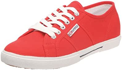 Superga 2950 COTU Unisex-Erwachsene Sneakers, Red, 36 EU