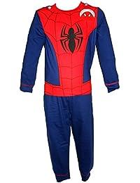 Boys Children's Novelty Batman Spiderman Superman Avengers Hulk Iron Man Cape Costume Pyjamas Pyjama PJ Set Fancy Dress - Age 2-3, 3-4, 5-6, 7-8 years
