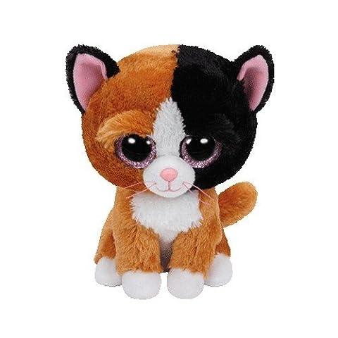 Ty - TY37178 - Beanie Boo's - Peluche Tauri Chat 15 cm