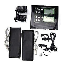 MYLW Fußbad Detox System Ionic Detox Fußbad Spa Maschine mit LCD Taillengurt Ion Array für Zwei Personen Verwenden Massage-Behandlungen