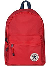 Converse Day Back Pack in Red- One Main Zip Compartment- Zip Pocket to Front 5bfd60ec07c9a