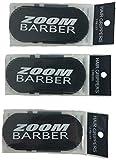 ZOOM Klett-Haarklammern 3er Pack 6 Stück zum Abteilen für Friseurfrisuren in schwarz pink oder grau