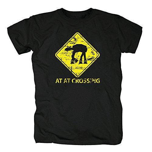 TSP AT-AT Crossing T-Shirt Herren XXXXL (Party Skywalker Stadt Kostüm Luke)