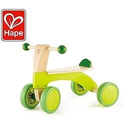 Hape - Bicicleta sin Pedales pequeña (Barrutoys E0101)