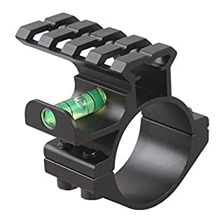 Rifle Scope Anti-Cant Bubble Level & 20mm Weaver/Picatinny Rifle Rail Riser