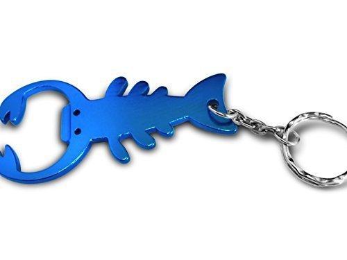 personnalisé gravé / personnalisé Porte-clés avec pochette cadeau - Scorpion ouvre-bouteille - lr123blu1