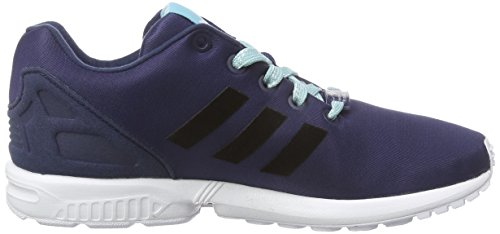 adidas Originals Zx Flux, Baskets Basses mixte enfant Bleu (Collegiate Navy/Core Black/White)