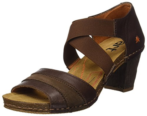 The Art Company 0148 Memphis i Meet, Sandali Open Toe Donna, Marrone (Brown), 39 EU