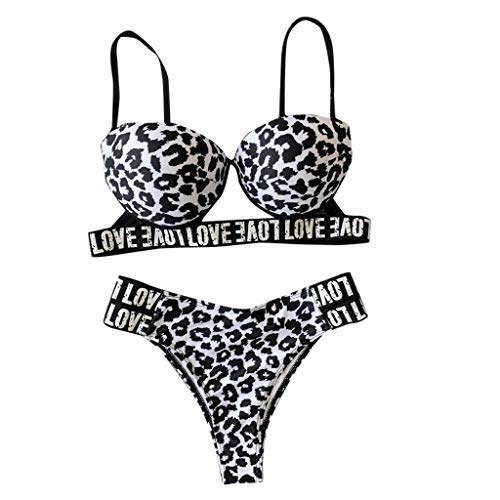 Berimaterry Bikinis Mujer 2019 Push Up Trajes de Baño Sexy Bikini Estampado Dividido BañAdores Color...