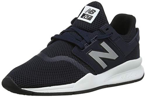 New Balance Herren 247v2 Sneaker, Blau (Eclipse/Silver Fd), 45.5 EU -