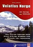 Veiatlas Norge 2004. Straßenatlas Norwegen 1 : 300 000
