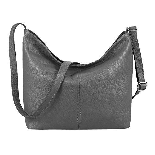 OBC Only-Beautiful-Couture, Borsa a spalla donna Turchese turchese 36x24x14 cm (BxHxT) grigio
