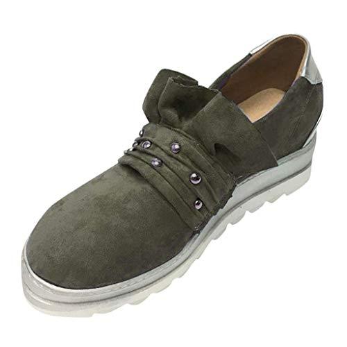 Sneaker Outdoorschuhe Sommer Freizeit Schuhe Leicht Arbeitsschuhe Freizeitschuhe Flats Bequem Sportliche Slipper Slip-Ons Ballerinas ()
