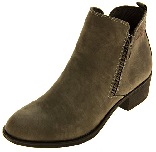 S.oliver 25302-27 Similisuède Bloc Talon Bottines Femmes