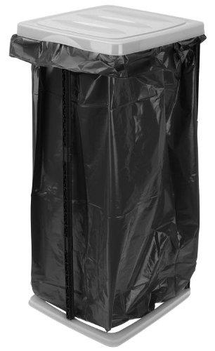 Unbekannt Müllsackständer 60l Grau Schwarz Müllständer Müllsackhalter Mülltonne Mülleimer Gelber Sack