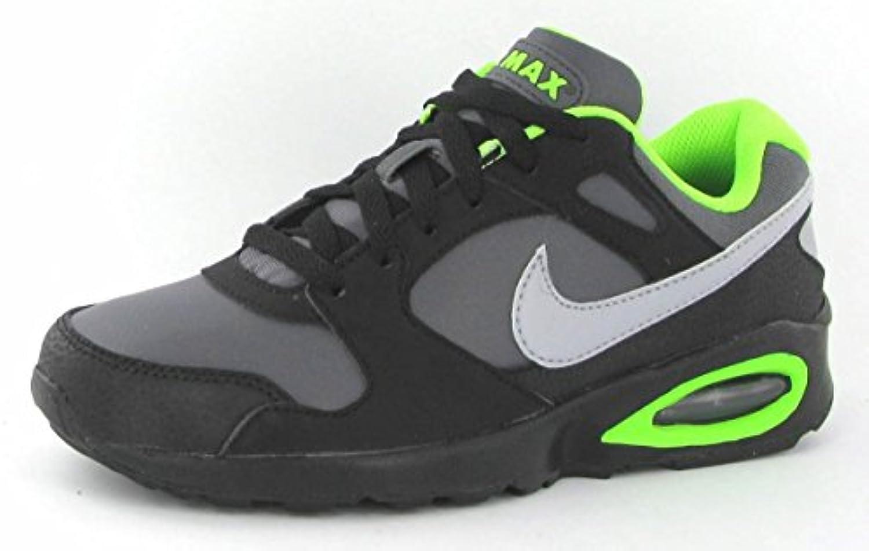 Nike Air MAX Coliseum Racer - Zapatillas de Piel (GS), 553458-003-39.5, Grey - Dark Grey - Blue, 39