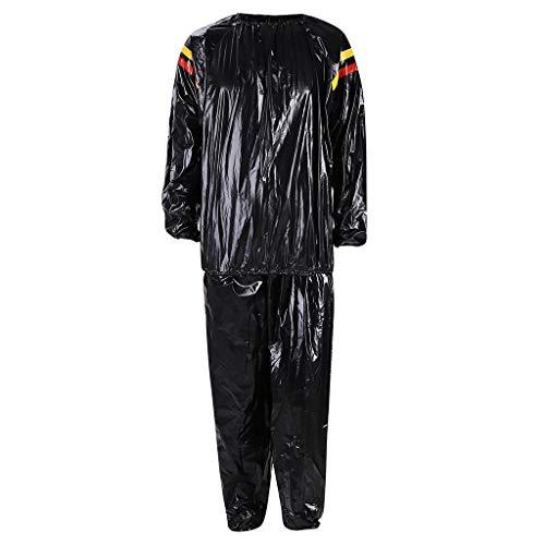 Setsail Modischer Sets PVC-Eignungs-Kleidung trägt die rote und gelbe schwitzende Sauna-Kleidung zur Schau, die Anzug abnimmt -