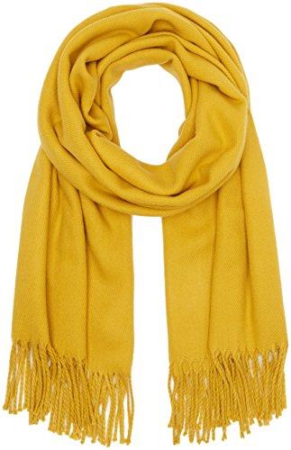 VERO MODA Damen Schal VMSOLID LONG SCARF NOOS, Gr. One size, Gelb (Harvest Gold)