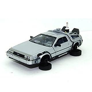 Welly Zurück in die Zukunft II Fahrzeugmodell im Maßstab 1:24, 19́81er Delorean LK Coupe mit klappbaren Rädern