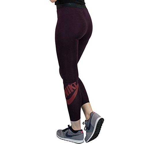 Nike - Legging - Femme Wine/Red