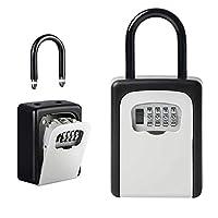Hai mai stato bloccato fuori o bisogno di accesso rapido alla tua casa o in ufficio? Il nostro Secure Key utilizza una combinazione a 4cifre Codice che offre fino a 10,000codici diversi per garantire una protezione robusta per i vostri oggetti di ...