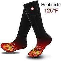 Svpro 3.7 Spannung Elektrische SockSport Geheizte Lithium-Batterie Kalter Winter für Mann und Frau
