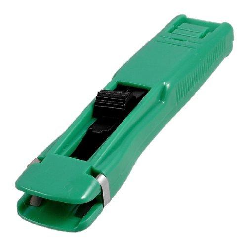 Grünem Kunststoff nachfüllbar Handbuch Clam Clip Hefter Dispenser - Dispenser Handbuch