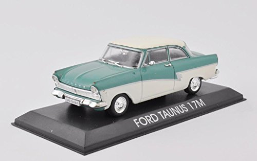 DieCast Modellauto 1:43 Agostini Ford Taunus 17M grün weiss