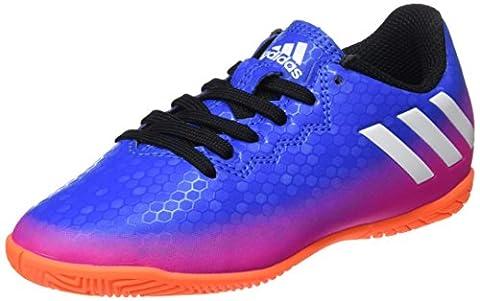 adidas Unisex-Kinder Messi 16.4 in Fußballschuhe, Blau (Blue/Footwear White/Solar Orange),