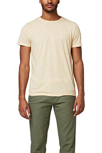 ESPRIT Herren T-Shirt 058EE2K007, Gelb (Yellow 750), Medium