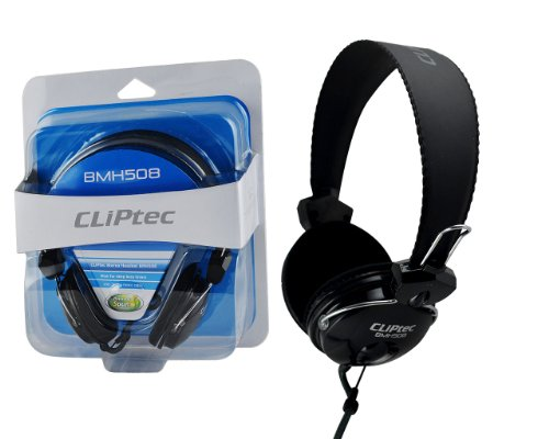 CLiPtec Chat Mate Deep Base Dynamisches Stereo Multimedia Headset für Gaming