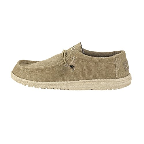 Dude Shoes Mens Wally Classic Chestnut Marron