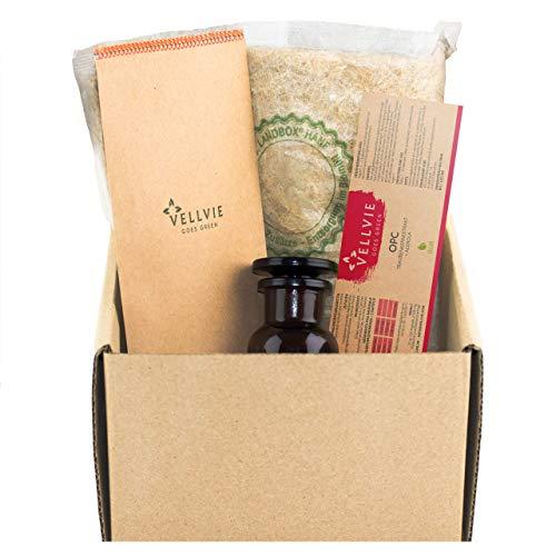 OPC Traubenkernextrakt 626 mg Premium OPC + 40 mg Natürliches Vitamin C aus Acerola pro Tagesdosis inkl. E-BOOK, 313 mg pro Kapsel, 120 Kapseln - Hochdosiert Vegan - aus französichen Weintrauben -