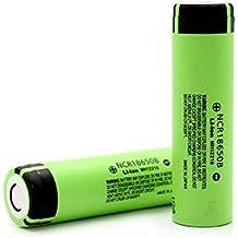 Panasonic NCR18650B_1PCM 18650 - Batería de ion de litio (3400 mAh, polo positivo alto)